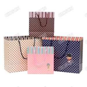 Custom Printing Paper Packing Bag/ Shopping Gift Bag pictures & photos