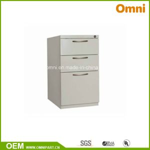 Mobile Pedestal Cabinet; Three Drawers Steel Cabinet; Steel Storage (OM-NS-05) pictures & photos