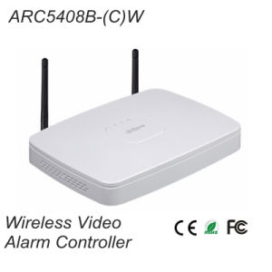 8 Channel Wired Alarm Local Input Wireless Video Alarm Controller{ Arc5408b- (C) W}