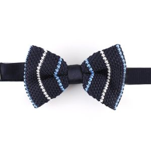 Men′s Fashionable 100% Polyester Knitted Bow Tie (YWZJ94) pictures & photos