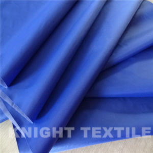 Raincoat Fabric Waterproof and Windproof with PU/Milky/PVC Coating (KNAT210-9)