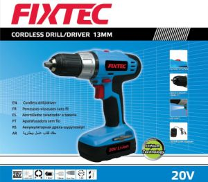 Fixtec Power Tools 20V 1300mAh 13mm Battery Cordless Drill pictures & photos