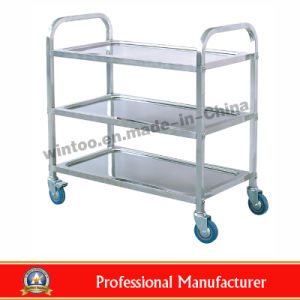 Top Rated Stainless Steel Dining Cart (RPD L3)