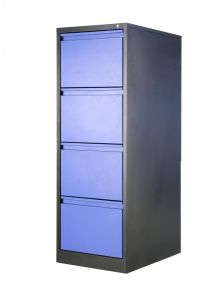 Four Drawers File Cabinets with Epoxy Powder Coating pictures & photos