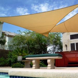100% New HDPE Garden Sun Shade Sail for Leisure and Outdoor Party (Manufacturer)