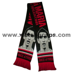 2018 New Fashion Style Football Fans Knitted Scarf (JRI096) pictures & photos
