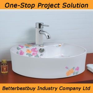 Beautiful Design Art Basin for Bathroom pictures & photos