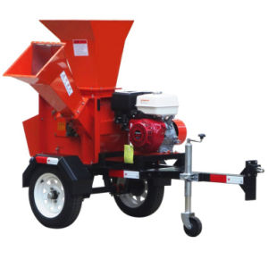 Honda 5.5HP Gasoline Wood Chipper pictures & photos