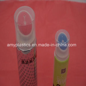 "50mm (2"") Plastic Round Tube with Brush Applicator for Cosmetics Packaging pictures & photos"