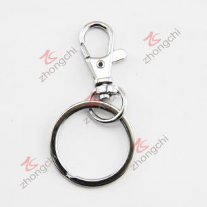 Hight Quality Zinc Alloy Metal Key Ring (ZC)