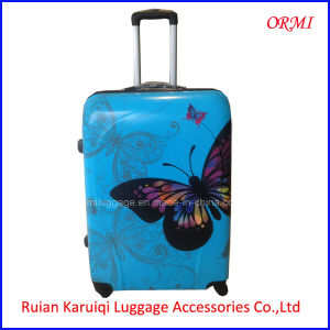 ABS PC Colorful Butterfly Printing Luggage Set pictures & photos