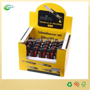 Full Color Folding Corrugated Paper Display Stand Box (CKT-CB-430)