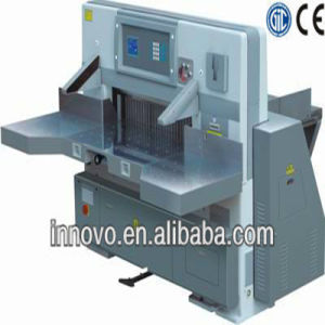 Program Control Paper Cutter (guillotines to cut paper) pictures & photos
