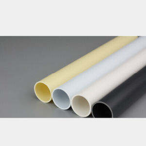 PVC Plastic Duct Cable Protection Tube Conduit Angola Pipes (Black/Red/Yellow/Blue) pictures & photos