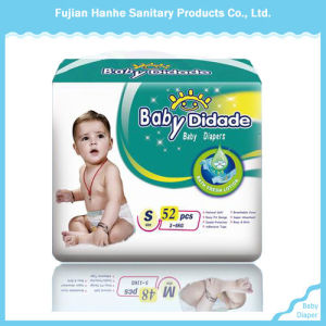 Disposable Colorful PE Backsheet Baby Diaper