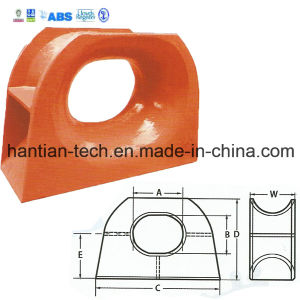 Ship Marine Casting Steel Towing Chock Type EU with Classification Society Approval (HT-C08) pictures & photos