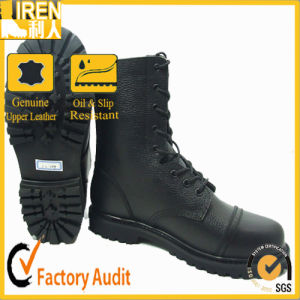 2017 Genuine Leather Military Combat Boots pictures & photos