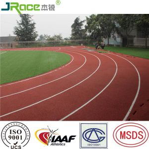 13mm Spray Coat System Stadium Athletic Track Rubber Covering pictures & photos