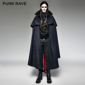Y-709 Punk Rave Gothic Style Vampire Count Luxury Suits Woven Cape Coat
