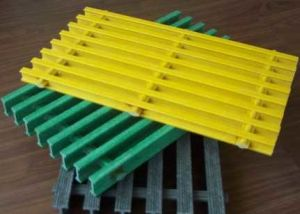 Fiberglass FRP GRP Pultruded Grates for Fence, Floor, Stairs pictures & photos