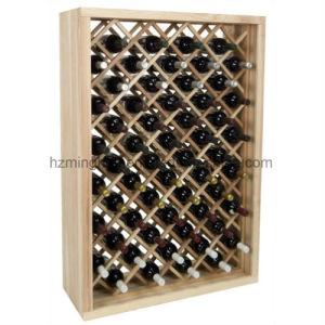 Store 58-Bottle Wood Floor Display Storage Red Wine Rack  sc 1 st  Huizhou Minghou Houseware Co. Ltd. & China Store 58-Bottle Wood Floor Display Storage Red Wine Rack ...