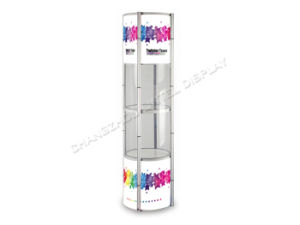Folding Cosmetic Spiral Twister Showcase Display Rack (LT-07) pictures & photos