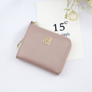 2017 Wholesale Designer Zip Wallet in Real Cow Leather for Fashion Women pictures & photos