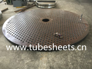 Large Size Carbon Steel Tube Sheet