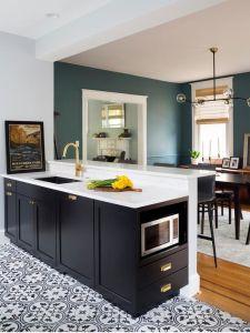 China Diy Kitchen Design Style Economy Kitchen Cabinet Dark Brown