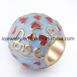 Factory Directly Price Jewelry Red Enamel Bead pictures & photos