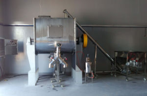 Ribbon Blender for Mixing Spices Powder