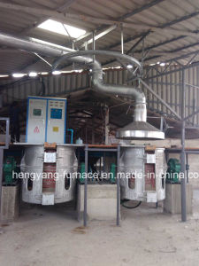 750kg Metal Melting Furnaces for Copper, Iron and Steel pictures & photos