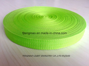 "1"" Grass Green PP Webbing for School Bags"