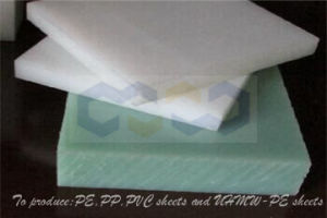 White /Black/ UHMW-PE Sheet with Virgin Material