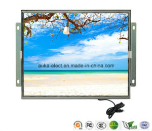 "15"" Open Frame Industrial Display with 5-Wire Resistive Touch Screen pictures & photos"