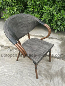 Outdoor and Indoor Table and Chairs with PE Rattan Chair and Square Table (SP-CT837) pictures & photos