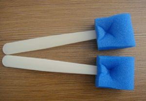 Oral Cleaning Medical Sponge Stick pictures & photos
