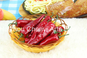Red Green Chinese Peppers Simulated Fruit pictures & photos
