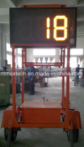 Trailer Mount Movable Traffic Radar Speed Sign for Road Safety pictures & photos