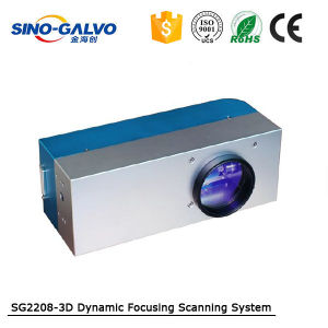 Color Customized High Power Dynamic Focusing Sg2208-3D for Laser Cutting/Engraving