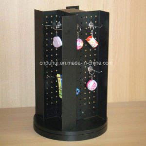 Four Sides Pegboard Metal Spinning Rack (PHY2020) pictures & photos