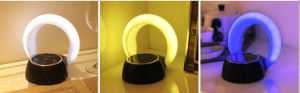 Portable Bluetooth Speaker & Night Light, USB Rechargeable LED Eye Protect Touch Table Lamp with Speaker pictures & photos