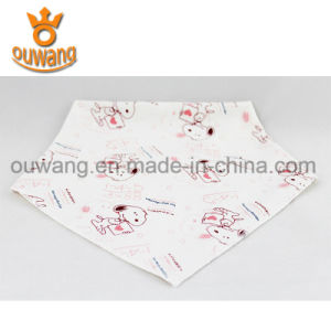 Factory Price Nice Pattern Baby Bibs Wholesale 100% Cotton pictures & photos