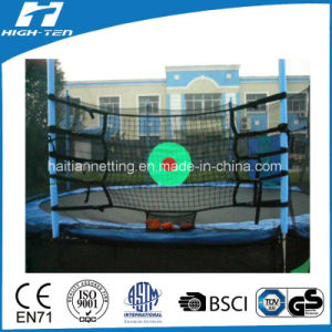 Rebound Net with Green Target for Trampoline