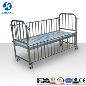 Single-Crank Children Hospital Bed Safe Guardrail