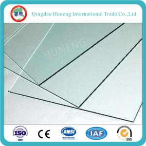 1mm Clear Sheet Glass for Photo Frame/Clock Cover