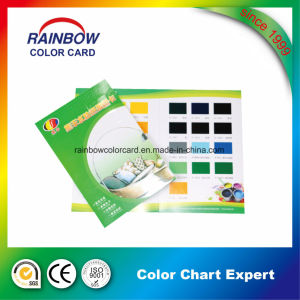 Deposit Printing Colour Chart Catalogue For Water Base Paste