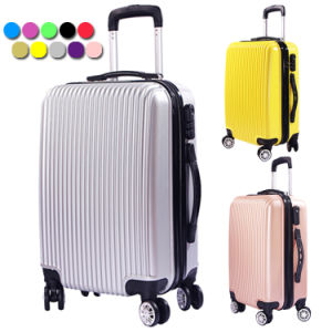 ABS PC Hard Shell Cabin Aluminum Luggage