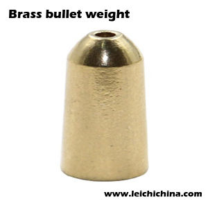 High Quality Brass Bullet Weight for Fishing pictures & photos