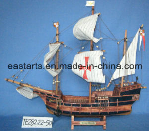 Lovely and Extraordiairy Wooden Toys Ship Model